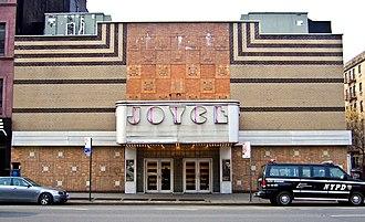 Joyce Theater - The Joyce Theater in February, 2009