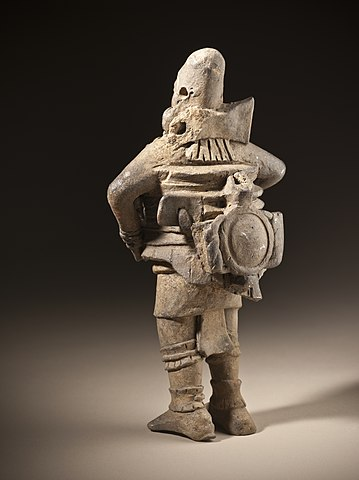 Ballplayer figurine (c. 6th - 9th century AD) - The Mesoamerican Ball Game