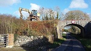 Western Railway Corridor - Line clearance at Athenry on Western Rail Corridor - November 2015