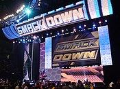 SmackDown's version of the universal WWE HD set used from January 21, 2008-present.