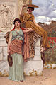 Waiting for the procession, by John William Godward.jpg