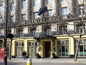 Hotels in London - The Waldorf Hilton Hotel London in Aldwych