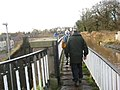 Walkers on the Aqueduct - geograph.org.uk - 1088663.jpg