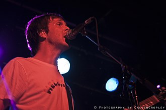 Walter Schreifels - Walter Schreifels performing live in 2009