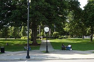 Central Square Historic District (Waltham, Massachusetts) - Image: Waltham MA Central Square