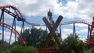 Walygator Parc - Image: Waly coaster
