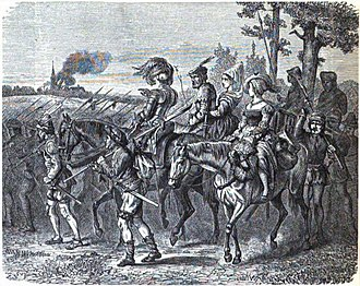 German Peasants' War - Wandering bands of insurgents during the German Peasants' War