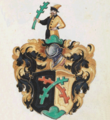 Wappen des Thomas Scheitenberger (Staatsbibliothek Bamberg Msc. Hist. 175, fol. 206r).png
