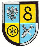 Coat of arms of the Verbandsgemeinde Herxheim