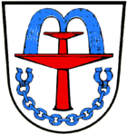 Wappen del cümü de Bad Füssing