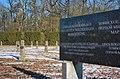 War cemetery for World war I in Marchtrenk, Upper Austria, Austria-russian section-field N & memorial stone-detail PNr°0649.jpg
