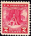 Washington at Prayer Valley Forge 1928 Issue-2c.jpg