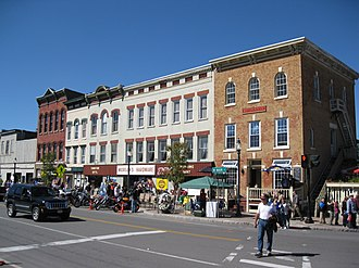 Waterville, New York - The Waterville Triangle Historic District.