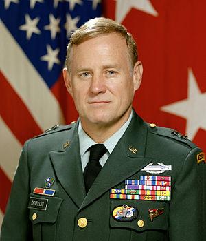 Wayne A. Downing - Wayne A. Downing as Major General, 1988