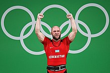 Weightlifting at the 2016 Summer Olympics – Men's 105 kg 13.jpg