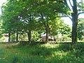 Weir Farm National Historic Site - Farmhouse from across the road.JPG