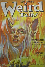 Weird Tales cover image for August 1939