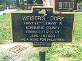 Weiser's Dorf Historical Marker - Middleburgh, New York.jpg