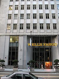 Wells Fargo's corporate headquarters and main branch