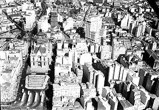 Vista aérea da Sé. São Paulo/SP