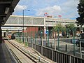 West Ham railway and DLR station, Greater London (geograph 4674165).jpg
