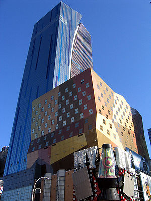 Arquitectonica - Westin Times Square Hotel in New York