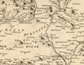 Westlicher Theil von Dalmatien Engelmann Johann Wenzel Wien 1789.png