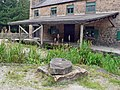 Wharf shed and mooring block, Cromford Wharf - geograph.org.uk - 1155484.jpg