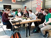 Wiki Techstorm 20191123 Techstorming together.jpg