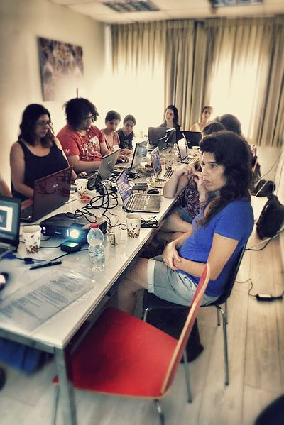 Wiki Women Editors Project - Opening Meeting (16).jpg