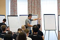Wikimedia Hackathon Vienna 2017-05-19 Mentoring Program Introduction 035.jpg