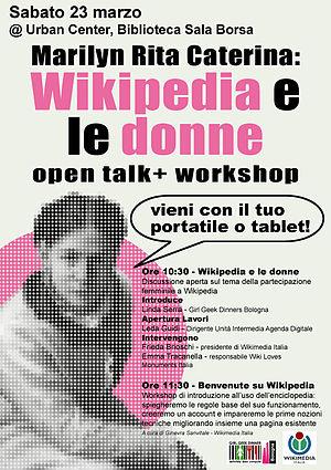 Wikipedia donne Bologna poster.jpg