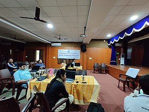 Wikisource and Wikidata training for Sanskrit Wikimedians- day 2.5.jpg