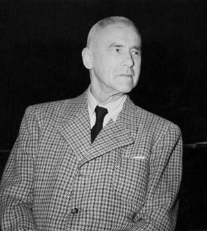 Wilhelm Frick - Frick at the Nuremberg Trials, 1946