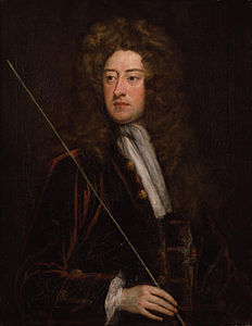 William Cavendish, II duca di Devonshire in un ritratto di Godfrey Kneller