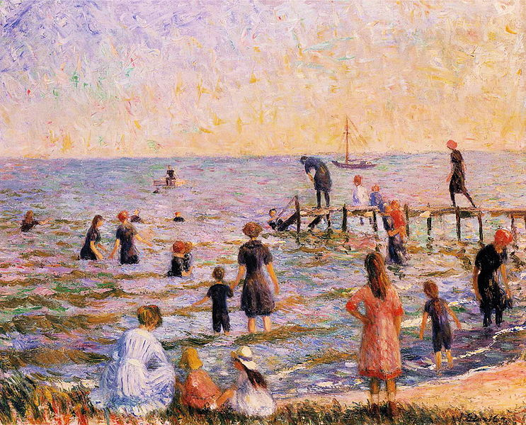 File:William Glackens - Bathing at Bellport, Long Island.JPG
