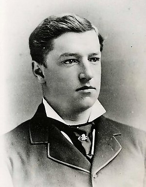 William Howard Taft - Yale College photograph of Taft