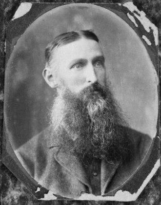 William Steward (New Zealand politician) - Steward in ca 1891