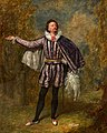 William Pleater Davidge as Malvolio in 'Twelfth Night' by William Shakespeare Henry Andrews (1794–1868) Theatre Royal, Bath.jpg