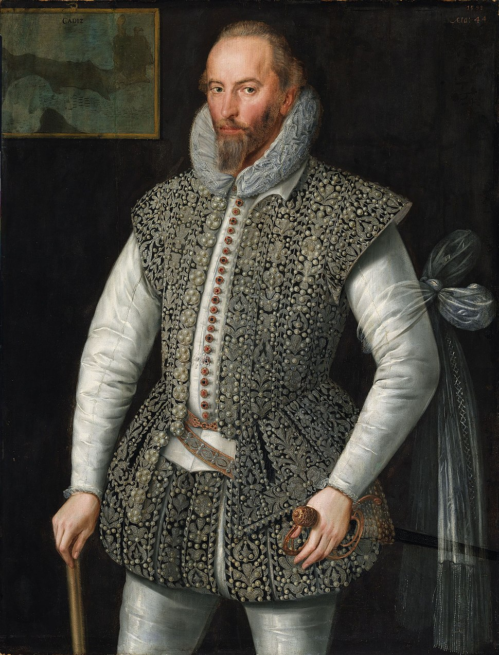 William Segar Sir Walter Raleigh 1598