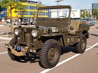Willys M38 Type of 1⁄4 short ton (230kg) 4x4 truck