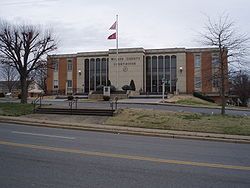 Wilson County Courthouse in Lebanon