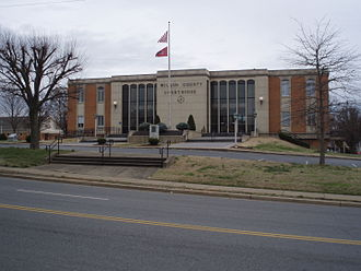 Wilson County, Tennessee - Image: Wilson county tennessee courthouse