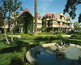 La Casa misteriosa di Winchester ritenuta infestata.
