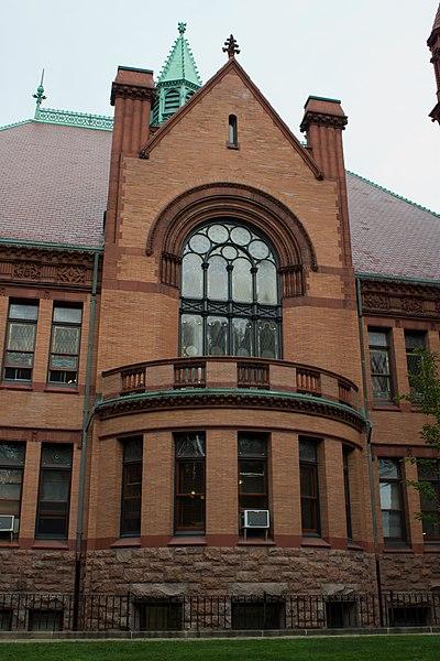 File:Window on Fairhaven Town Hall.jpg