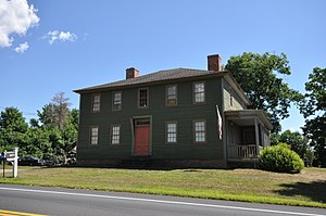 National Register of Historic Places listings in Windsor, Connecticut - Image: Windsor CT Bissell Tavern