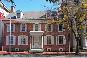 William Darlington - Darlington's office was in this building of the National Bank of Chester County