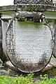 Wolfsberg Reideben 1 Schloss Bischofstein Reliefstein Inschrift 03092014 387.jpg