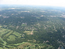Aerial view of Woodbourne-Hyde Park