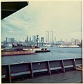 World Trade Center under construction in 1970 view from USS Compass Island.jpg